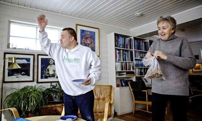 ENGASJERT: Hans Korsgaard får ikke snakket nok om fotball. Foto: Nina Hansen / Dagbladet