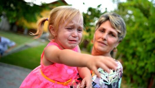 Stressa barnevakt?