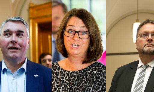 image: En av disse kan bli ny stortingspresident