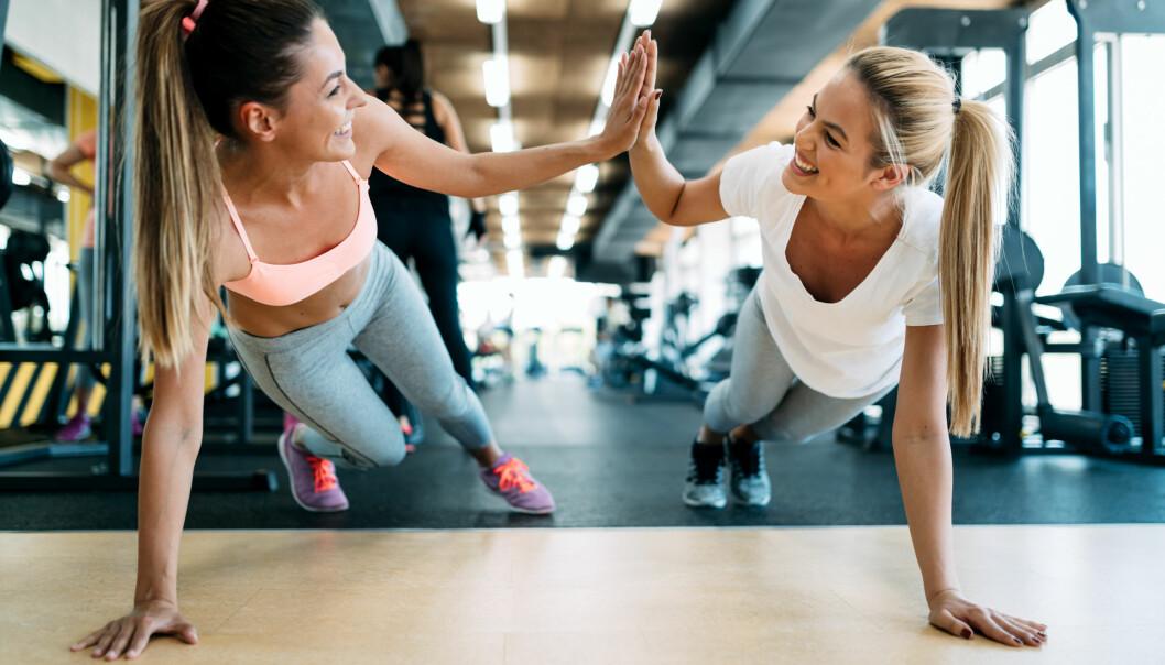 TRENING: Kroppens muskler og ledd trenger variasjon for ikke å bli overbelastet av trening. FOTO: NTB Scanpix
