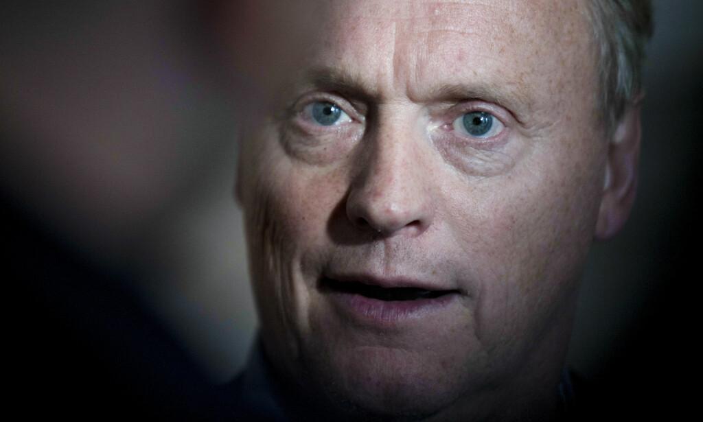 VIL TERRORSIKRE: Oslos byrådsleder Raymond Johansen vil terrorsikre hovedstaden med «gatemøbler». Foto: Torstein Bøe / NTB scanpix