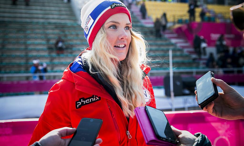SKUFFET I OL: Silje Norendal var skuffet og lei seg etter at vinden ble et problem for snowboarderne i slopestyle-finalen i OL. I Big Air ble hun nummer seks. Foto: Bjørn Langsem/Dagbladet