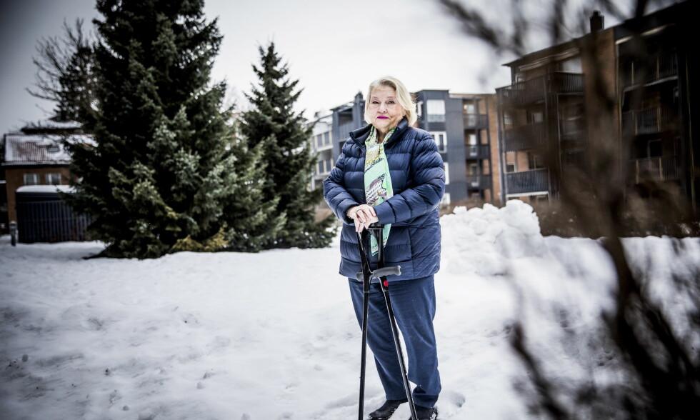 MISTET MATLYST: Marit Christensen gikk ned 90 kilo etter en slankeoperasjon, men har slitt med store plager i ettertid. Foto: Christian Roth Christensen
