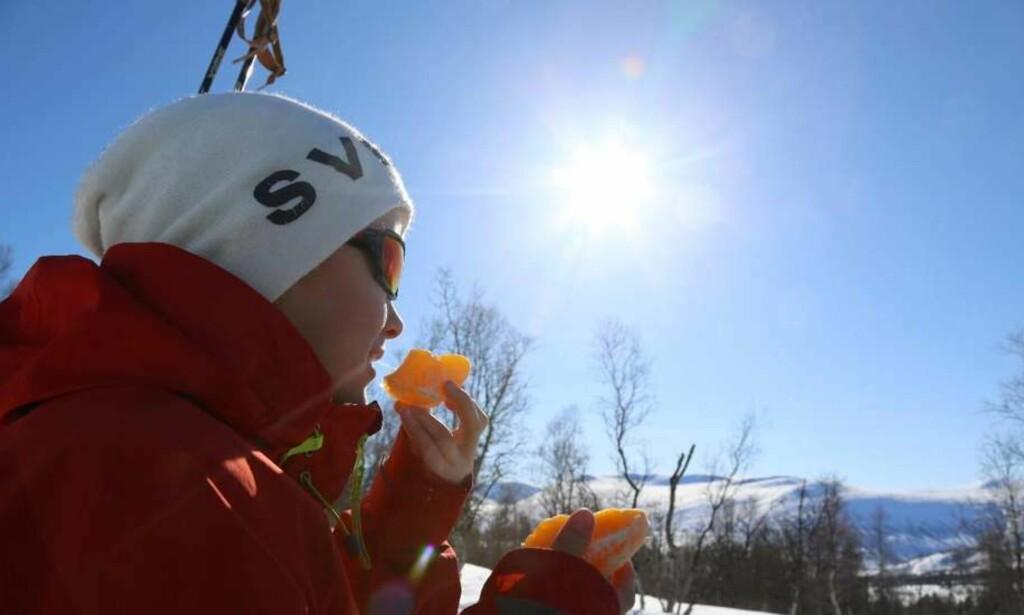 Sikkerhet: Husk solbrille og solkrem i påskefjellet. Foto: Odd Roar Lange/The Travel Inspector