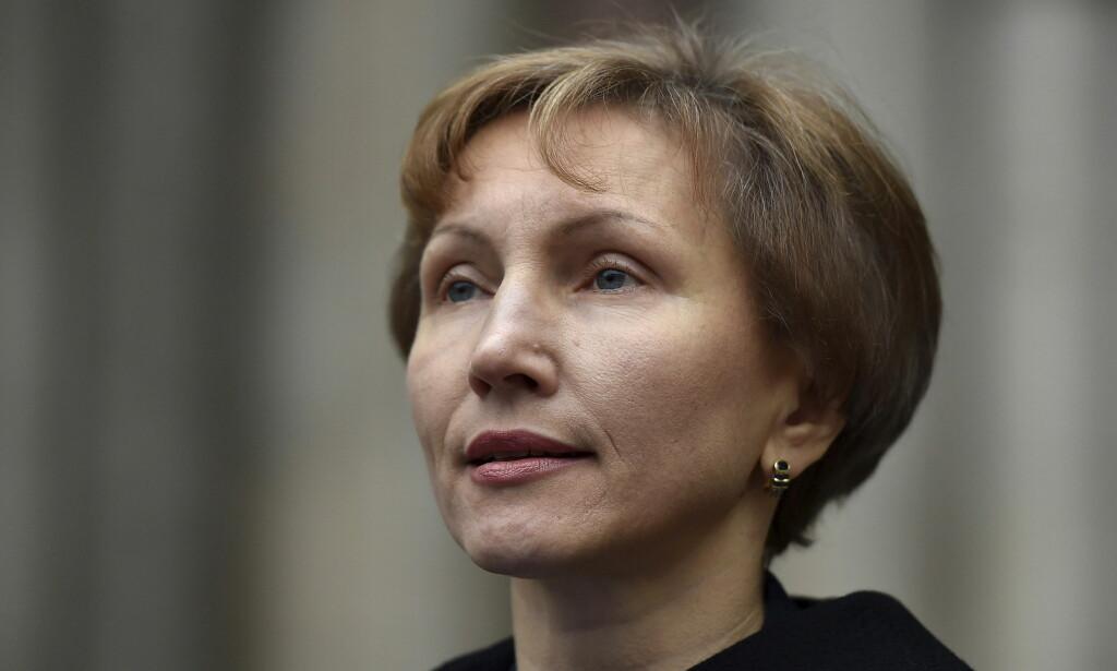 ENKE: Marina Litvinenko oppfordrer britiske myndigheter til å sette i gang målrettede sanksjoner mot enkeltpersoner i Russland som følge av drapsforsøket på Skripal. Foto: NTB scanpix