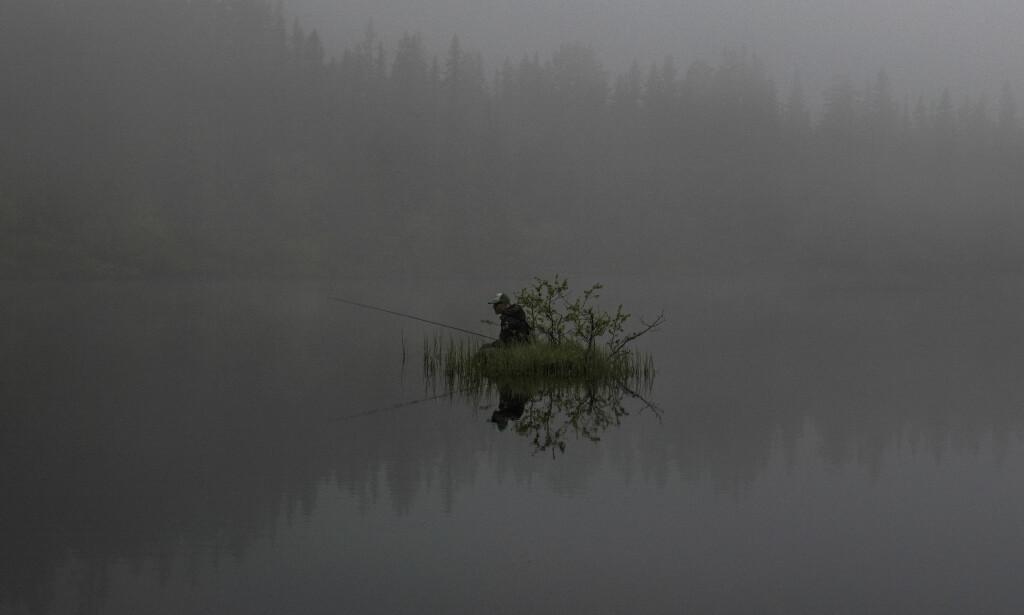 ALENE I SKODDEHEIMEN: 2. pris Dagligliv i Norge. Foto: Jørn Moen, Dagbladet