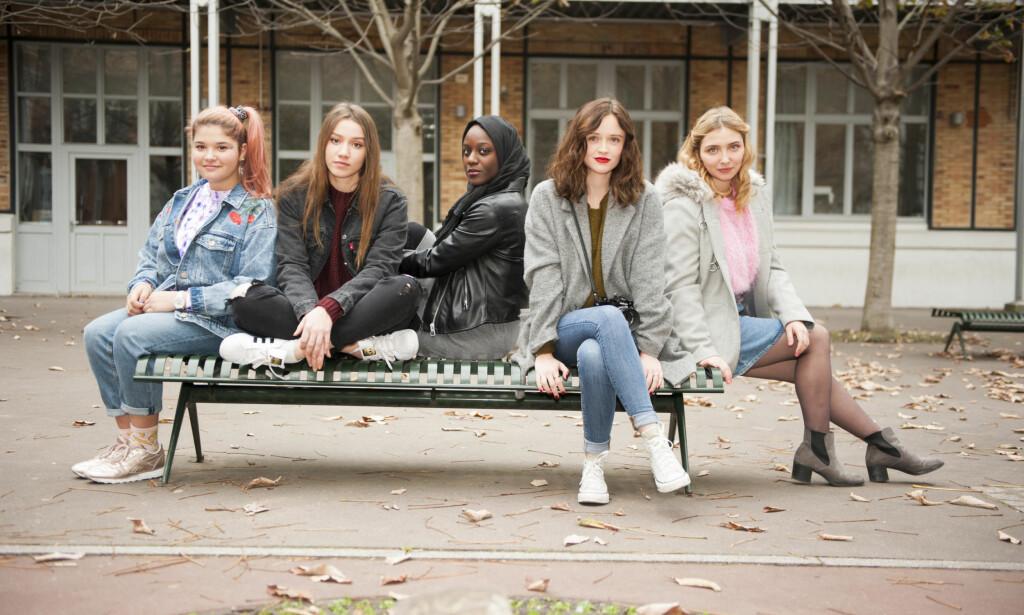 PÅ SKJERMEN: Slik ser den franske «Skam»-gjengen ut. Serien hadde premiere i Frankrike i februar. Foto: France 4