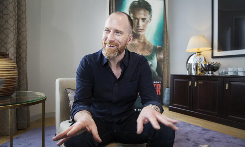 HJEMME IGJEN: Roar Uthaug er aktuell med storprosjektet «Tomb Raider», som han startet på for 2,5 år siden. Foto: Henning Lillegård / Dagbladet .