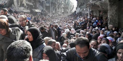 image: - Tenk deg en halv million barn gående uten å ha noe å gjøre i Midtøstens gater
