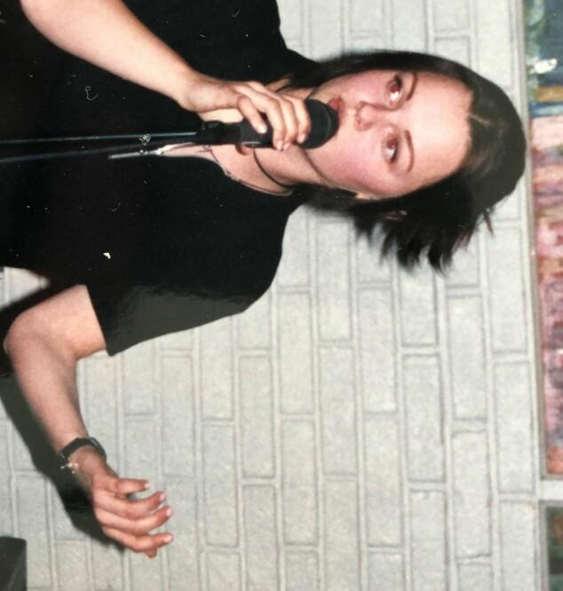 GLAD I MUSIKK: Marianne Sveen skal opptre med låten «Teardrop» av Massive Attack i kveldens sending. Foto: Privat