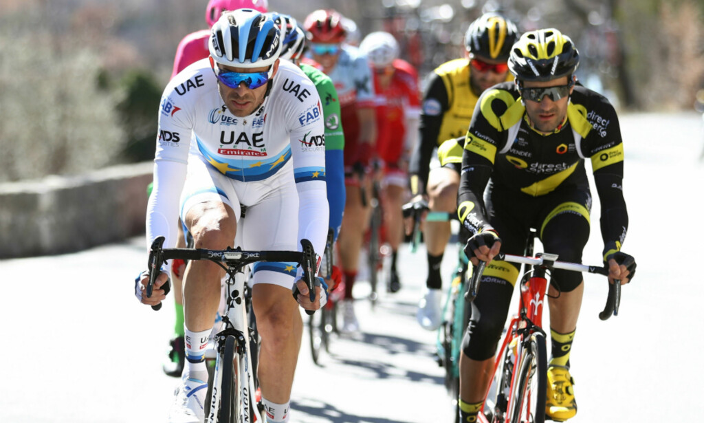 BRØT: Alexander Kristoff, her under den 6. etappen av Paris-Nice, stod av rittet lørdag. FOTO: Tim de Waele (TDWSport.com)