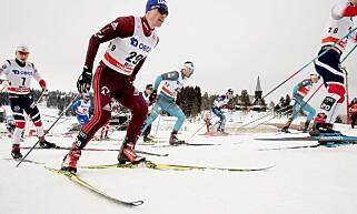 TILBAKE: Maksim Vylegjanin gjorde comeback i Holmenkollen lørdag. Foto: Bjørn Langsem / Dagbladet