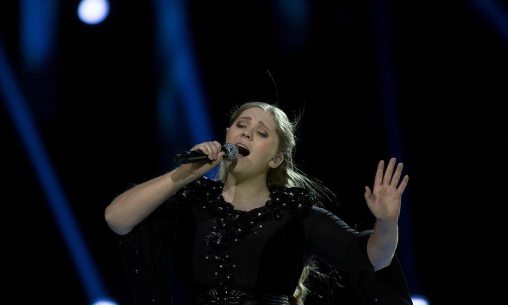 IMPONERENDE: Stemningen var til å ta og føle på under Rebeccas opptreden. Foto: Anita Arntzen / Dagbladet