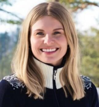 SKUFFET: Kommunikasjonssjef for Holmenkollen skifestival, Emilie Nordskar. Foto: Ida Myklebust Sundar
