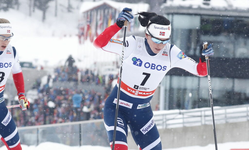image: Bjørgen vant etter thrilleravslutning i Kollen