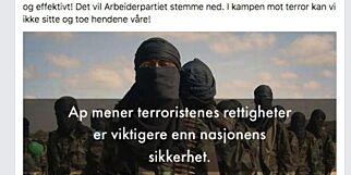 image: Hvorfor lar Erna Solberg sitt politiske rennomme ødelegges av Listhaugs utfall på Facebook?