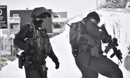 OSLO 20180312 Mann kritisk skadd etter skyting i garasjeanlegg i i Seterbråtveien 95 på Bjørndal i Oslo .  Foto: Lars Eivind Bones / Dagbladet
