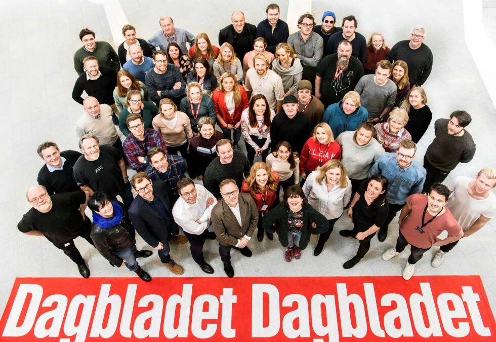 REKORD: Med et driftsresultat på 79,3 millioner kroner, kan vi se tilbake på det beste året i Dagbladets 149-årige historie. Foto: Lars Eivind Bones