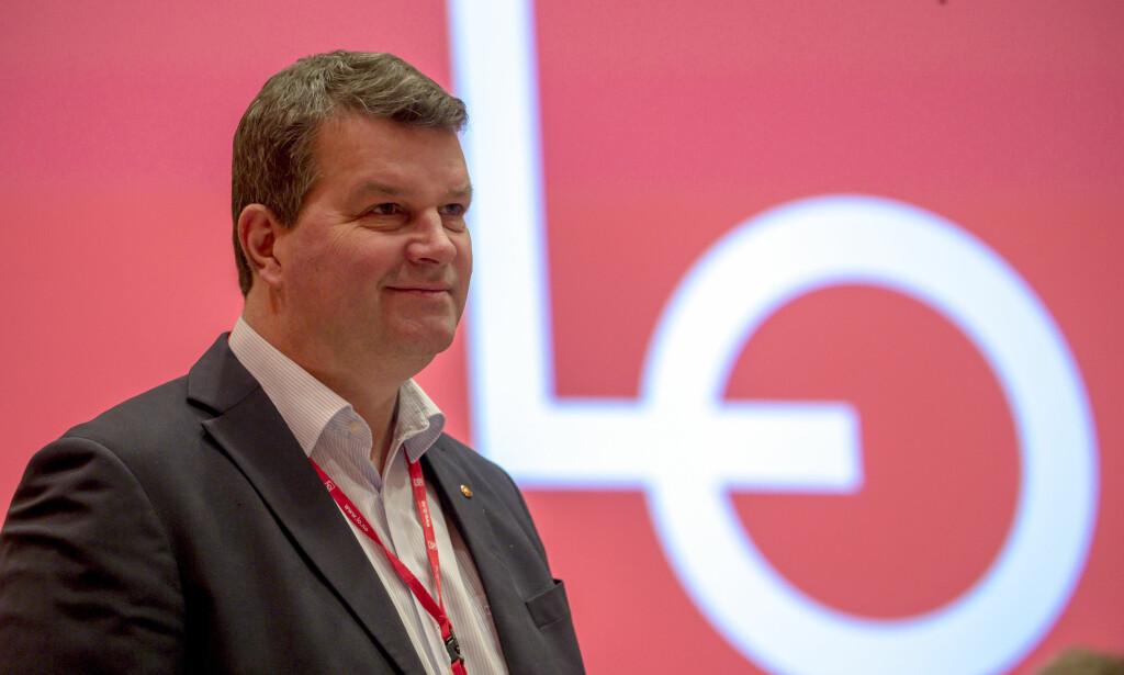 AVSLÅR: LO-leder Hans-Christian Gabrielsen sier nei til EUs energiunion.