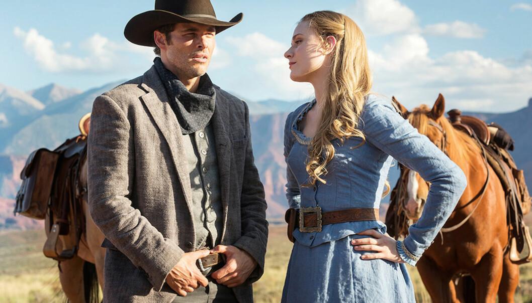 «WESTWORLD»: Både Teddy og Dolores dukker opp igjen i den andre sesongen av serien. FOTO: HBO