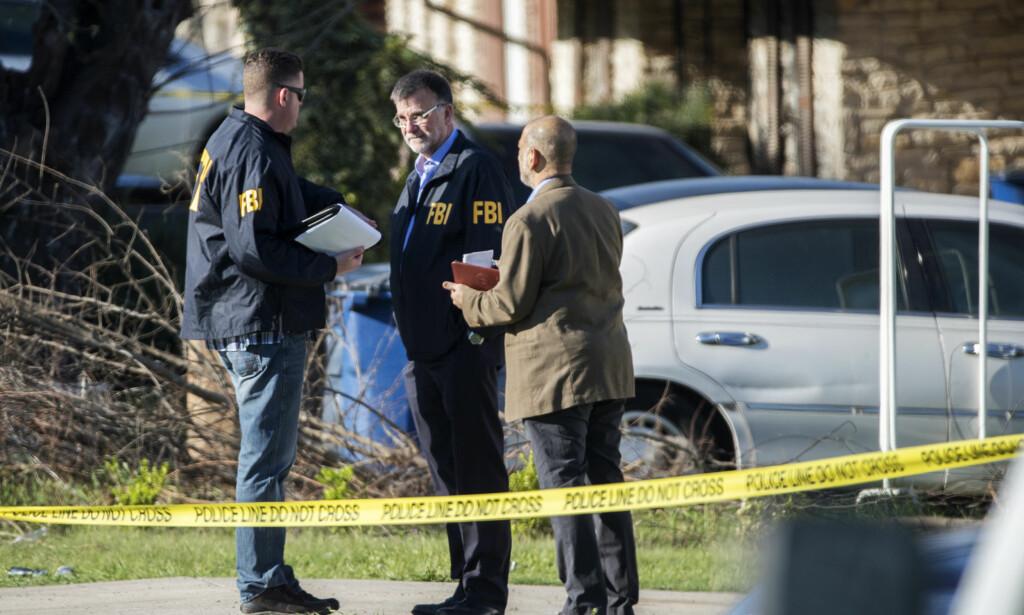 BREVBOMBER: Tre brevbomber har tatt livet av tre personer i Austin i Texas. Alle ofrene hadde minoritetsbakgrunn. FOTO: NTB Scanpix/Ricardo B. Brazziell/Austin American-Statesman via AP