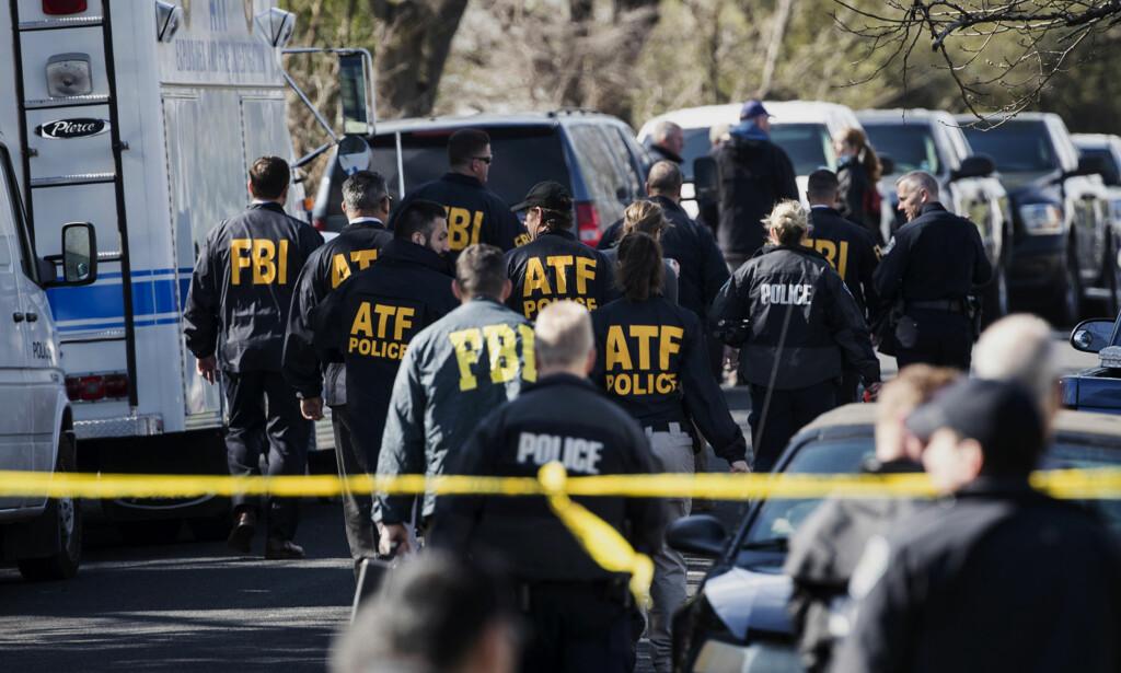 DØDELIG: Myndighetene jobber på høygir og utlover dusør etter flere dødelige brevbomber i Austin i Texas. Foto: Ricardo B. Brazziell/Austin American-Statesman via AP
