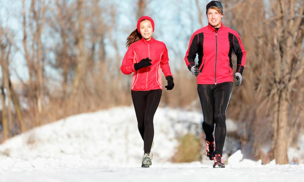 TRENING VED ASTMA: Trening er bra for deg med astma. Men trening i kulda kan være problematisk for noen astmatikere.