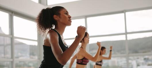 - Det foreligger dessverre lite dokumentert forskning på hva trening alene gjør med huden vår