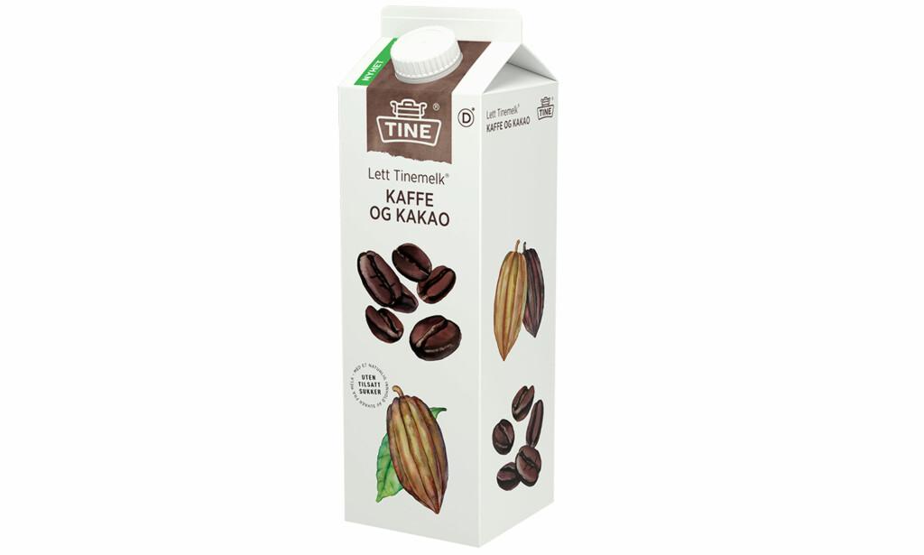 Tine Tinemelk med kaffe og kakao. Foto: Produsenten