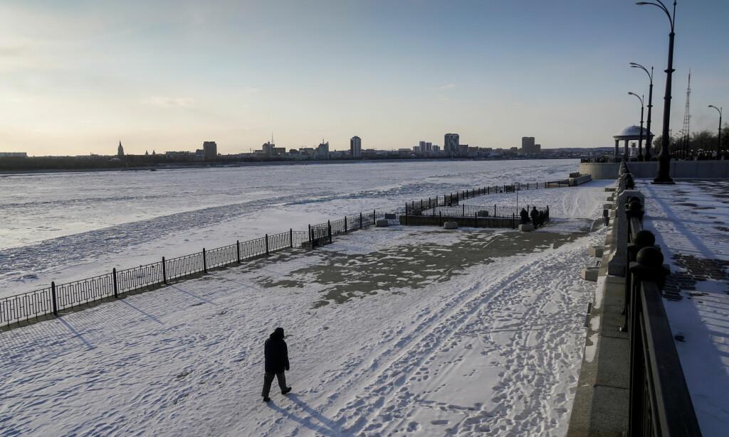 AMUR RIVER: De avkappende hendene ble funnet ved Amur River i Russland. Foto: NTB Scanpix