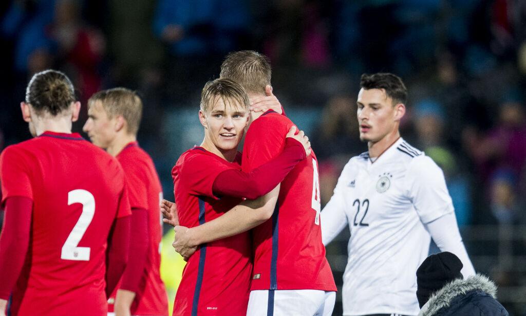 image: Ødegaard og Ajer er inne hos Lagerbäck
