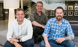 TESTPANELET: Jonathan Kolbu, Markus Dalseg og Eirik Mehus fra De 3 stuer har smakt på 15 ferdigmiddager for Dagbladet.