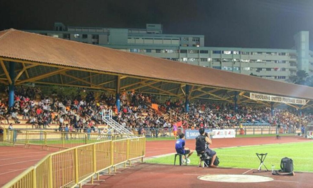 SINGAPORE: Hougang stadion der English spilte. Foto: FourFourTwo