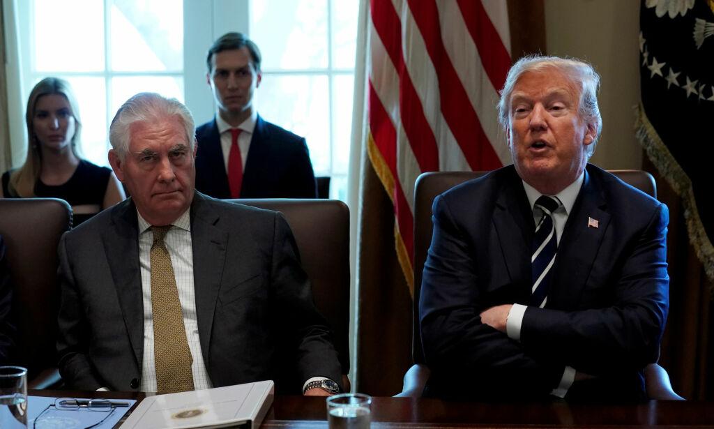 image: Trump kvittet seg med «spurven» Tillerson. - Det lover bra for USA