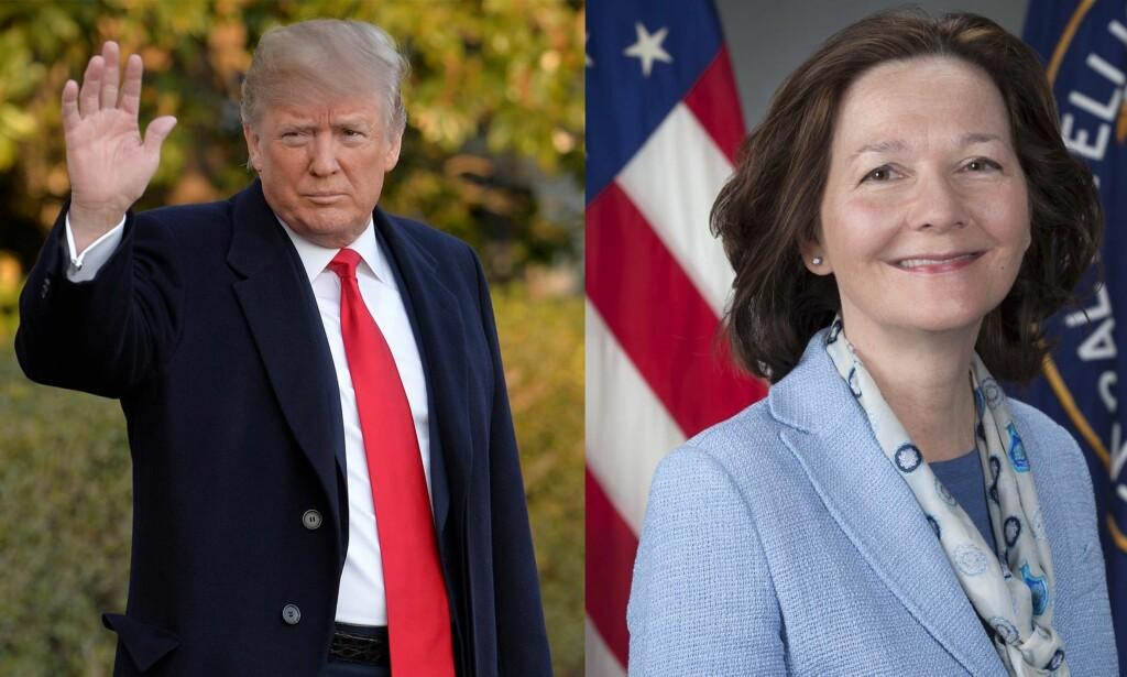 CIA: Tirsdag ble det kjent at Donald Trump bytter ut Rex Tillerson med CIA-sjef Mike Pompeo som utenriksminister. Gina Haspel vil ta over som øverste leder for CIA, og blir dermed den første kvinnelige lederen noensinne. Foto: Reuters/AFP/NTB Scanpix