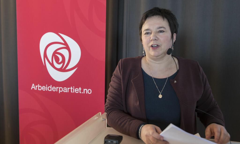 FOLKEAVSTEMNING: Fylkesordfører Ragnhild Vassvik sier det bør holdes en avstemning før sommeren. Foto: Vidar Ruud / NTB scanpix