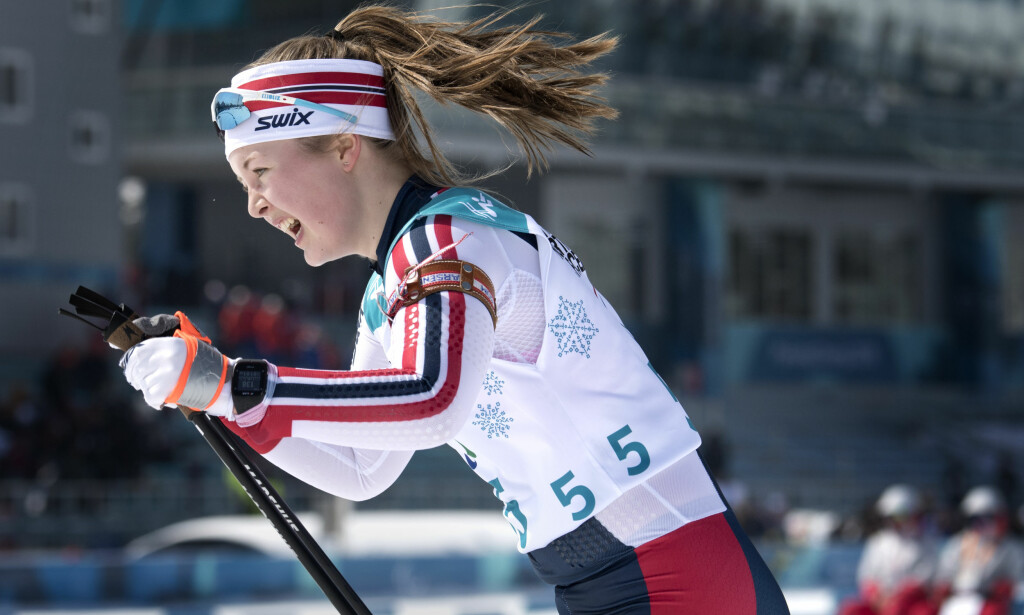 PYEONGCHANG: Norges Vilde Nilsen går 6 km skiskyting for stående under paralympics i Pyeongchang i Sør-Korea. Foto: Jessica Gow/TT / NTB scanpix