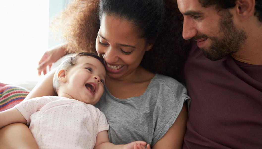 <strong>SMITTES AV VENNINNEGJENGEN:</strong> - Smitteeffekten ved graviditet er ofte ubevisst, og jentegjengen speiler seg i hverandre, sier eksperten. FOTO: NTB Scanpix