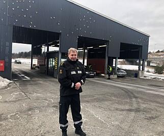 Per Kristian Grandahl, kontorsjef ved Svinesund tollkontor. (Foto: Jenny Mina Rødahl)