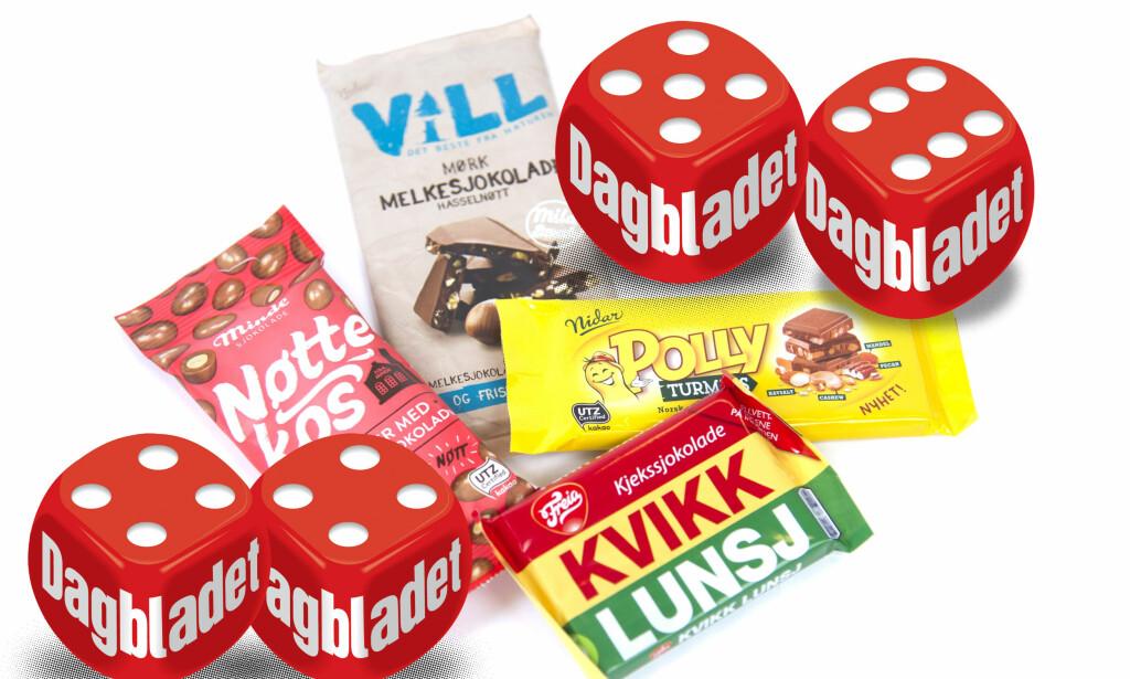 TURSJOKOLADE: Årets nye sjokolader byr på konkurranse til Kvikk lunsj, men som tursjokolade er Kvikk lunsjen uovertruffen.