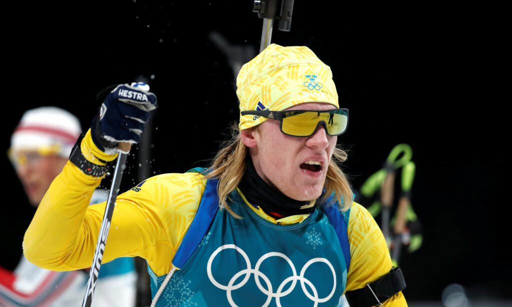 SVENSK SKISKYTINGSUKSESS: Svenskene sjokkerte mange med sine gullmedaljer i OL, hvor unggutten Sebastian Samuelsson var en av de aller største stjernene. Nå forteller de hvorfor suksessen kom akkurat nå. Foto: NTB Scanpix