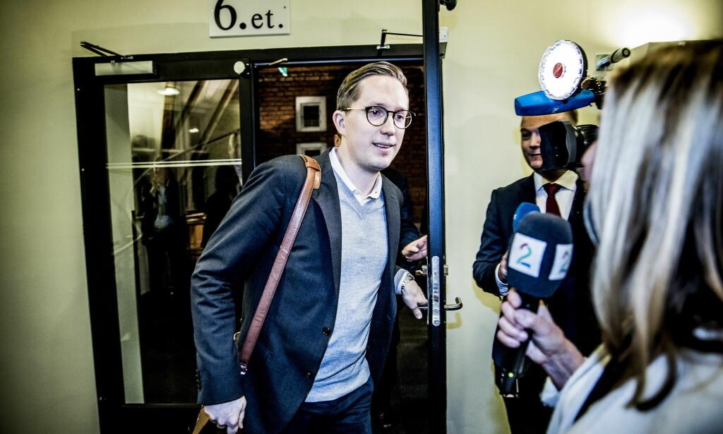 IKKE GJENVALG: Ledelsen i Innlandet Høyre sier de hjalp Tonning Riise treffe beslutningen om å takke nei til gjenvalg til Stortinget. Foto: Christian Roth Christensen / Dagbladet