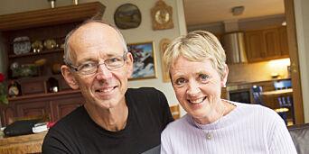 image: Solveig og Frode har vært kjærester i 41 år. Fører dagbok om livet sammen