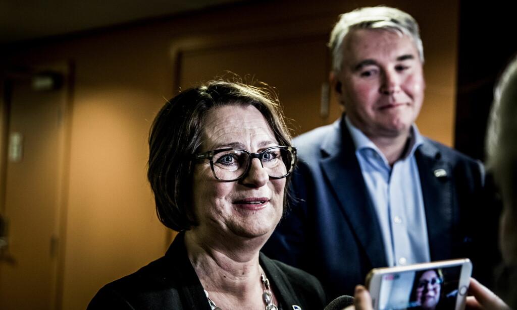 TAR OVER FOR OLEMIC: Tone Trøen blir landets nye stortingspresident og dermed nummer to etter kongen. Foto: Christian Roth Christensen / Dagbladet