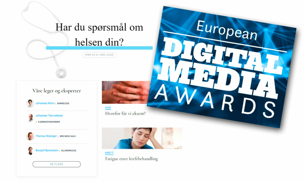 NOMINERT: Lommelegen er i finalen i European Digital Media Awards 2018.