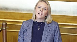 image: Listhaugs uttalelser viser at hun verken forstår hva et kirkeasyl er, eller hvorfor noen av oss lar oss engasjere