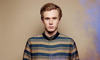 KLAR: Tarjei Sandvik Moe er allerede godt i gang med skuespillerkarrieren. Foto: Agnete Brun