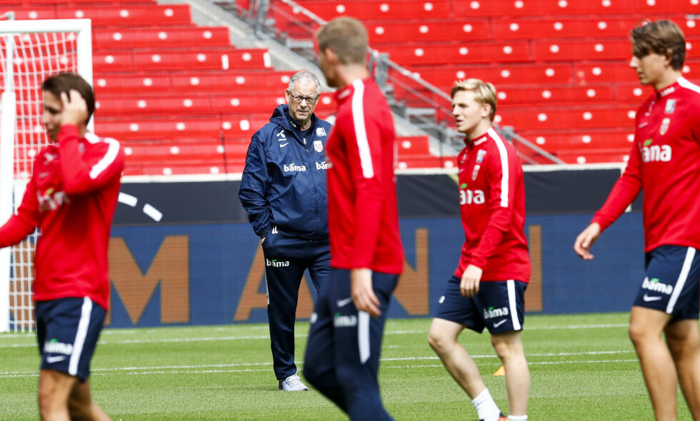 57.PLASS: Norges fotballandslag. Foto: Foto: Heiko Junge / NTB scanpix