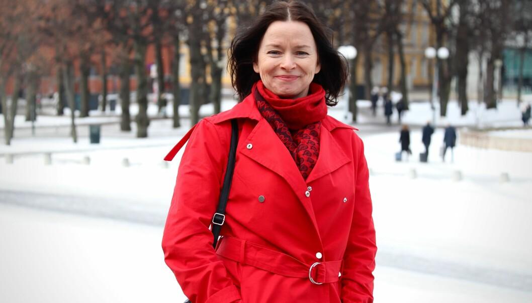 <strong>UTBRENTHET:</strong> Marianne synes det er kjempegøy å jobbe, og higer alltid etter nye utfordringer. Men en dag sa kroppen stopp. FOTO: Ida Bergersen