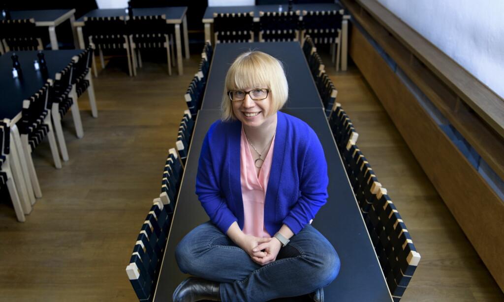 KRIM FOR ALLE ALDRE: Kristina Ohlsson er populær som krimforfatter både for voksne og barn. Foto: LARS EIVIND BONES